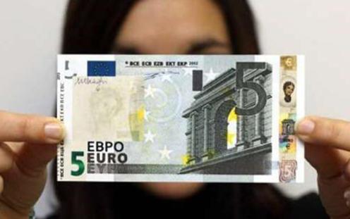 Nuova banconota da 5 €